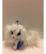 "Cute 2013 Palace Pets ""Cinderella's"" 10"" White Puppy Dog ""Pumpkin"" Plush... - $9.49"