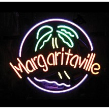 "New Margaritaville Palm Tree Beer Neon Sign 24""x20"" - $195.00"