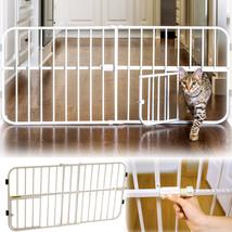 "Pet Small Gate Door Dog Cat 18""H Steel Expendab... - $22.66"