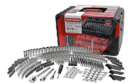 450 Piece Mechanic's Tool Set With 3 Drawer Case Box #311 Best Deal  - $249.95