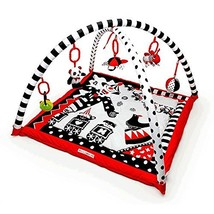 Black, White & Red Activity 3D Playmat & Gym - $98.82