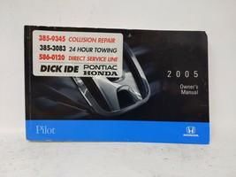2005 Honda Pilot Owners Manual 72625 - $23.74