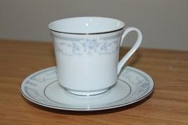 Vintage Sheffield Blue Whisper Porcelain Fine Cup & Saucer 1985 Made In Japan -F - $9.49