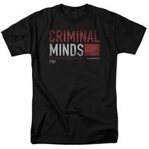 Criminal Minds t-shirt Behavioral Analysis Unit Quantico graphic tee CBS1222 image 1
