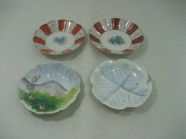 Bundle of Four (4) Vintage Collector Plates Hand Painted Decorative Plates - $20.53