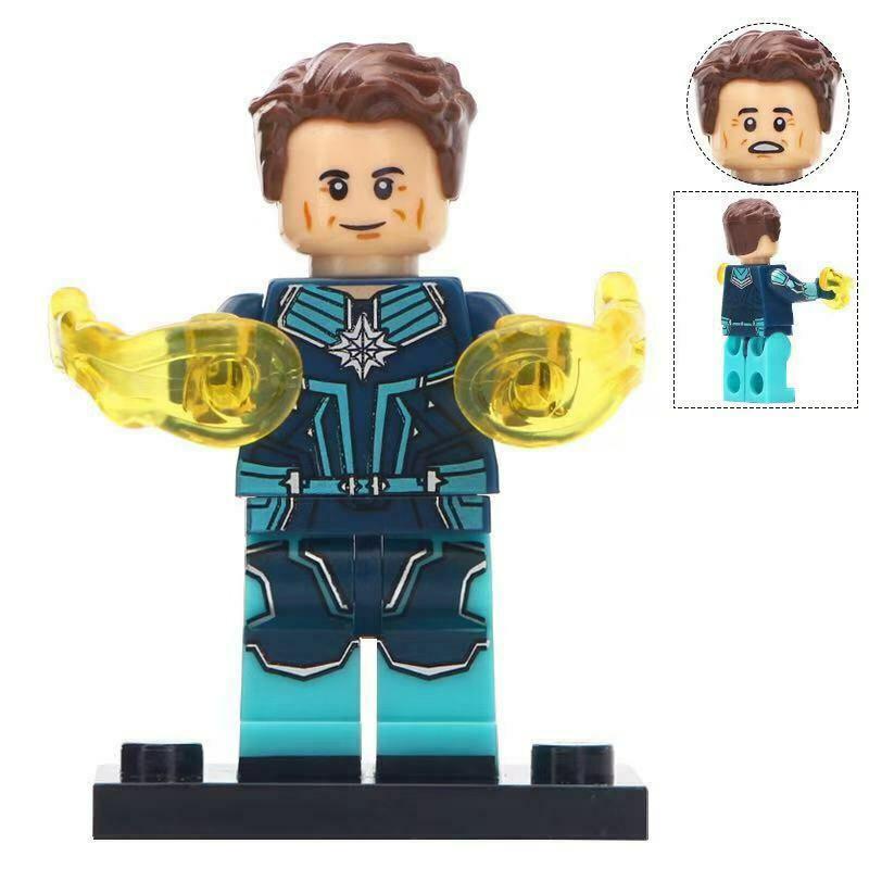Yon-Rogg The Starforce Kree leader Captain Marvel Lego Minifigures Toy Gift