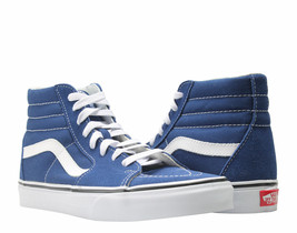 VANS SK8-HI ESTATE CANVAS MEN SIZE 6 / WOMEN SIZE 7.5 SHOES BLUE VN0A38G... - £53.34 GBP