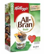 Kellogg's Jumbo All Bran Buds 4 x 1050g boxes Canadian  - $96.00