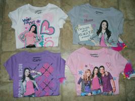 Girls Nickelodeon ICarly Tee Shirt Sz XS S M L XL Purple White Pink Grey... - $15.99