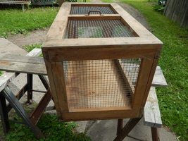 Small animal cage wood   wire  4  thumb200