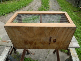Small animal cage wood   wire  6  thumb200