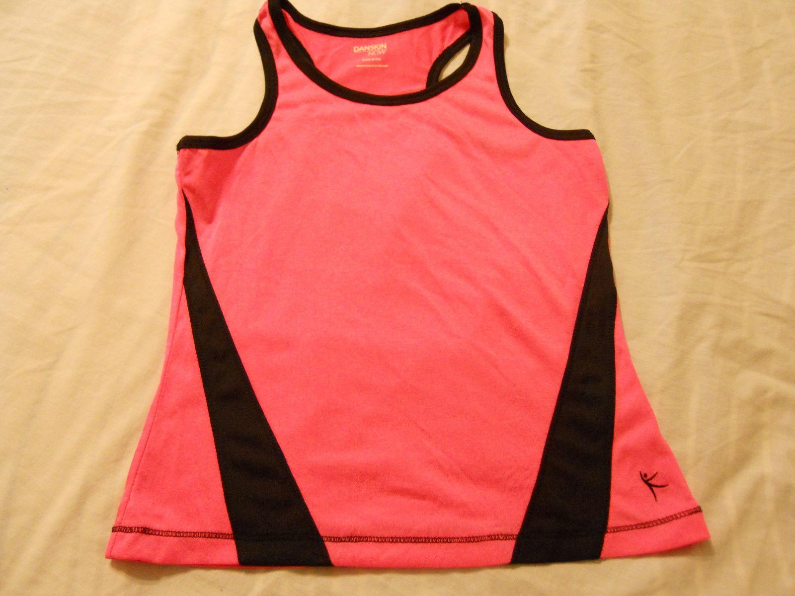 Danskin Now Girls Shirts Poly Tank Top Active Sports Kids Children
