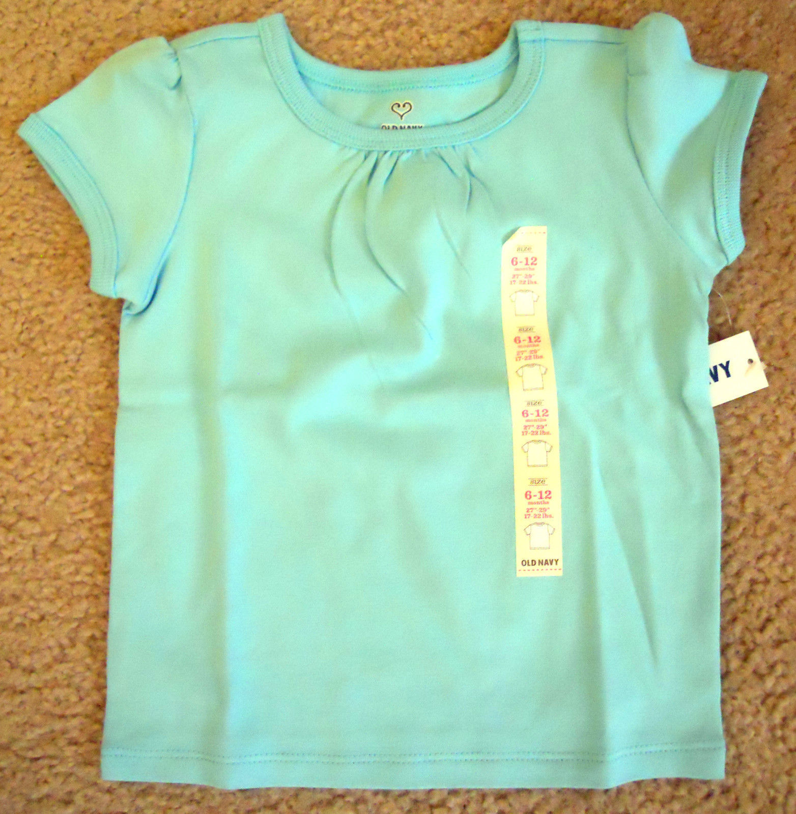 Clothing, Shoes & Accessories Tops & T-shirts Girls Old Navy Scary Cute Long Sleeve T-shirt Size 5 Nwt