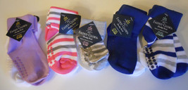 Infant Non-Skid Socks Faded Glory Boy Girl S 0-6M 6-18M 18-36M 3-5 Years NEW - $4.98