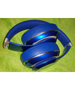 Beats by Dre. Blue Wired Headphones for Parts or Repairs Model B0500 - $49.99