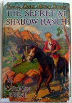 Nancy Drew mystery The Secret at Shadow Ranch no.5 1943A-35 Carolyn Keen... - $25.00