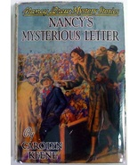 Nancy Drew no.8 Nancy's Mysterious Letter 1942A... - $50.00