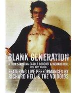 Richard Hell & the Voidoids - Blank Generation (DVD, 2009) (pre-viewed)  - $3.95