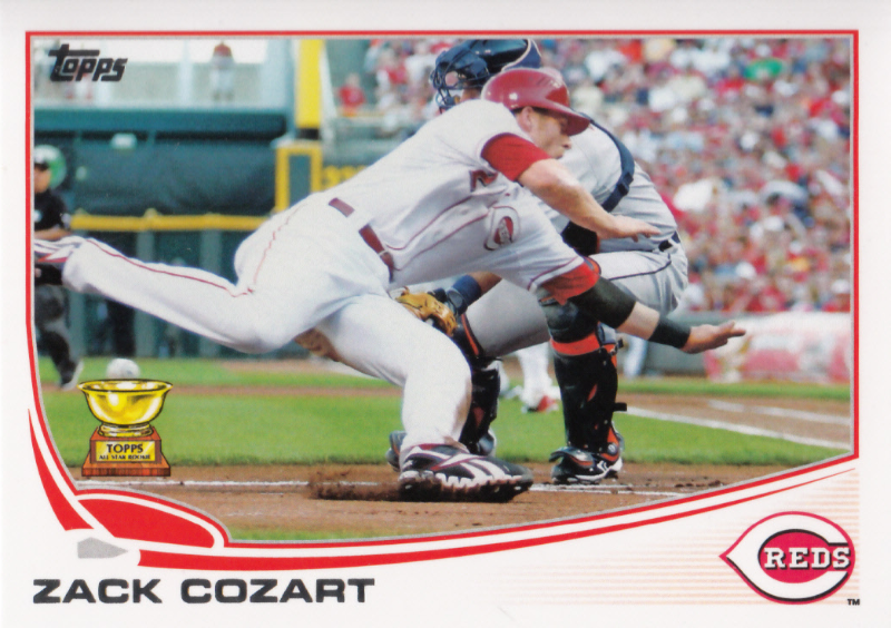 Zack Cozart 2013 Topps Series 1 Card #202
