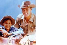 Rifleman Chuck Connors Vintage 16X20 Color Western TV Memorabilia Photo - $29.95