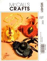 McCall's M5491 Cardinal Chicken Loon Bird Purse Handbag Pattern  - $14.95