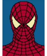 Latch Hook Rug Pattern Chart: SPIDERMAN - EMAIL2u - $5.75