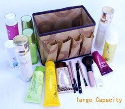 Large capacity multi-function folding makeup Cosmetic Storage Box Contai... - $21.99