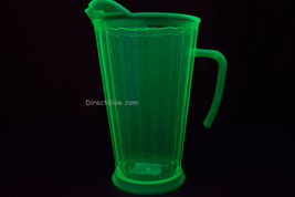 Neon Green Blacklight Reactive 60oz Plastic Pitcher - $10.50