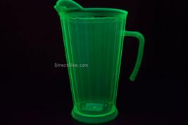 Neon Green Blacklight Reactive 60oz Plastic Pitcher - $10.50