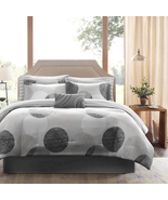 King size Modern 9-Piece Bed Bag Comforter Set ... - $179.99