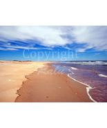 Plum Island Photo Ocean Seascape Sand Northshore 5x7 Nature Photography - $9.99