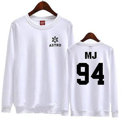 KPOP ASTRO Sweater SANHA NEW Unisex Hoodie EUNWOO Jumper MJ MOONBIN ROCKY JINJIN