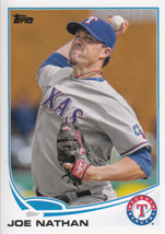 Joe Nathan 2013 Topps Series 1 Card #236 - $0.99