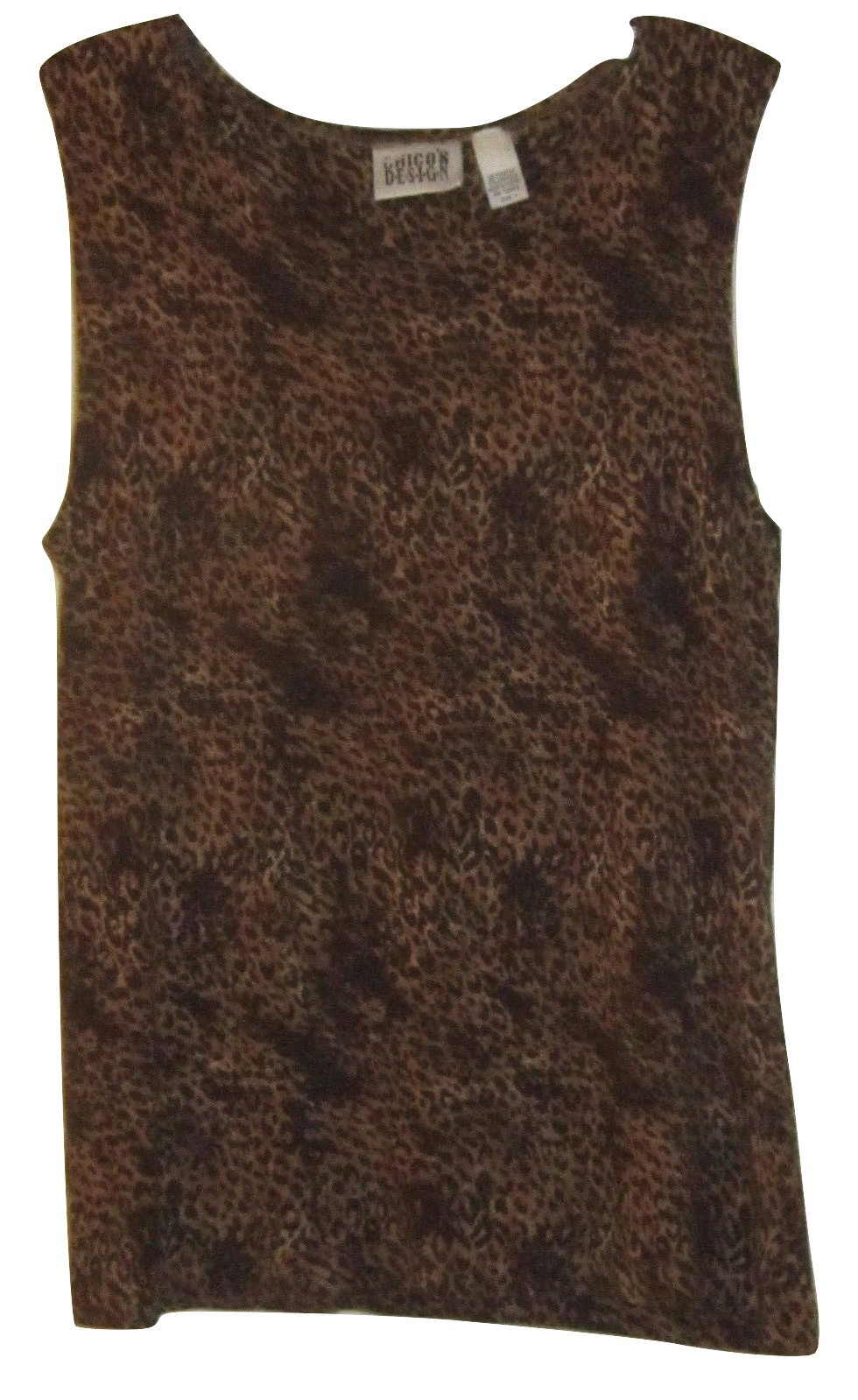 5269838c2 Chico's 1 Sleeveless Animal Print Top Size and 50 similar items