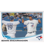 Edwin Encarnacion 2013 Topps Series 1 Card #310 - $0.99