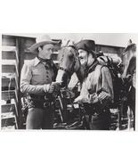 Roy Rogers Trigger Gabby Hayes 125 Vintage 8X10 BW Music Memorabilia Photo - $12.95