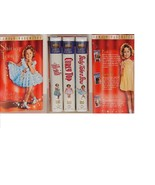 Shirley Temple Gift Set VHS 3-Tape Set Heidi & Baby Take a Bow & Curly T... - $7.99