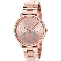 Michael Kors MK3621 Jaryn Rose Gold Tone Crystal Dial Ladies Watch - $347.68