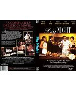 Big Night DVD Stanley Tucci Tony Shalhoub - $19.99