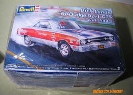 ~ Revell 1968 Dodge Dart  GTS - 1:25 NHRA drag model kit  - w/ Dick Land... - $27.50