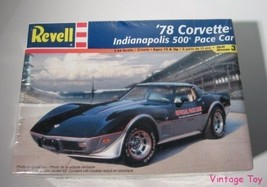 ~ Revell  1978 Corvette Indianapolis 500 Pace Car - 1:24 Indy model kit ... - $17.50