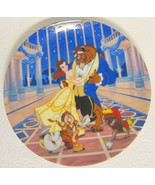 Beauty and the Beast Plate Disney Loves First Dance Limited Edition 9530E - $31.18