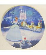 Cinderella Plate Disney Treasured Moments Limited Edition 1544H - $31.18