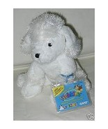 WEBKINZ POODLE Full Size WHITE POODLE by GANZ unused code  NEW - $9.98