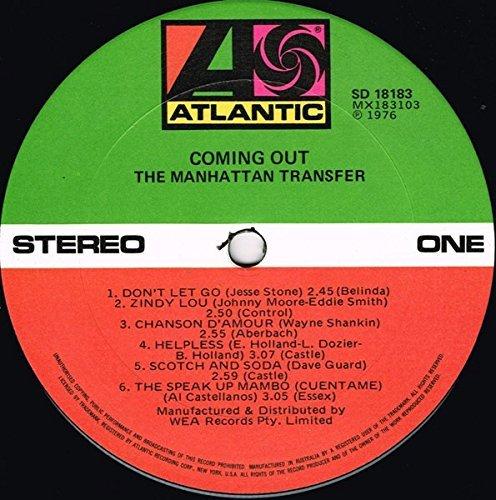 Coming Out Vinyl Manhattan Transfer Music