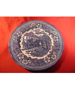 """10 1/2"""" Dinner Plate, from Royal Tudor, in the Coaching Taverns, Blue Pa... - $15.99"""