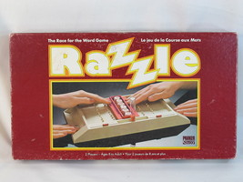Razzle 1981 Board Game Parker Brothers 100% Complete Bilingual Excellent - $11.53