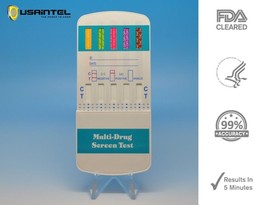 5 Pack of 5-Panel Drug Testing Kit / Test for 5 Drugs - Five Panel - $11.92