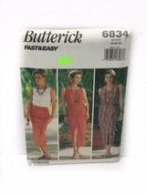Butterick 6834 Misses Miss Petite Top Skirt Vintage Sewing Pattern Size ... - $11.87