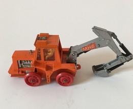 Matchbox Super Kings K-5 Muir-Hill Tractor Trailer Backhoe 1972 Toy Car ... - $9.89